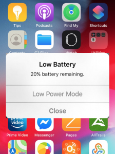 iPhone low power mode sleep problem tired